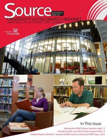 Proudly Cincinnati - University of Cincinnati Libraries