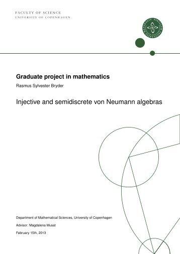 Injective and semidiscrete von Neumann algebras