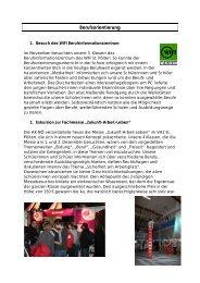 BO-Projekte im Schuljahr 2009/10 - Berufsorientierung
