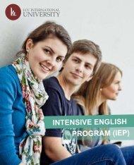 IEP edited - LCC International University