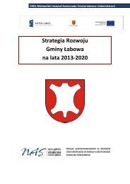 Strategia Rozwoju Gminy Łabowa na lata 2013-2020