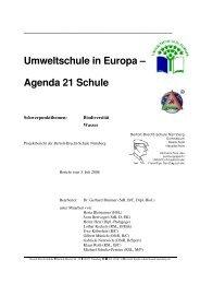 Umweltschule in Europa – Agenda 21 Schule - Bertolt-Brecht-Schule