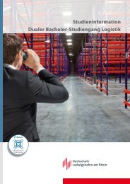 Logistisch - Dualer Bachelor Logistik