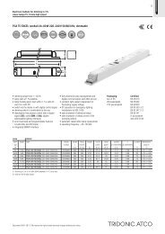 PCA T5 EXCEL one4all 24-;80 W 220-;240 V 50/60/0 Hz, dimmable