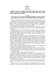 1 BIBLIJA - Srpski Glas