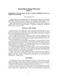 Unutaršnjost Knjige Otkrivenja Glava 1. - Srpski Glas
