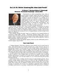 Da Li Je Mr Herbert Armstrong Bio Jedan La`ni Prorok?