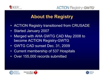 About the Registry