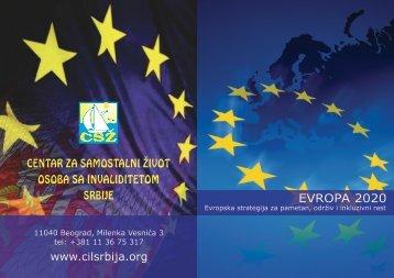 EVROPA 2020 www.cilsrbija.org