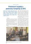 Preliminarni izvje{taj o poslovanju kompanija za 2010 - Page 2