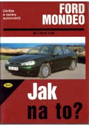 Jak na to. Ford Mondeo 92-00 komplet