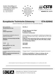 Europäische Technische Zulassung ETA-02/0042