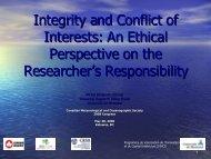 La valorisation des résultats de la recherche: le point de vue - ptaff.ca