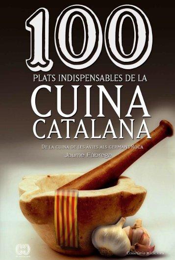 indispensables de la cuina catalana