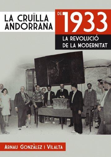 La cruïlla andorrana de 1933 la revolució de la modernitat
