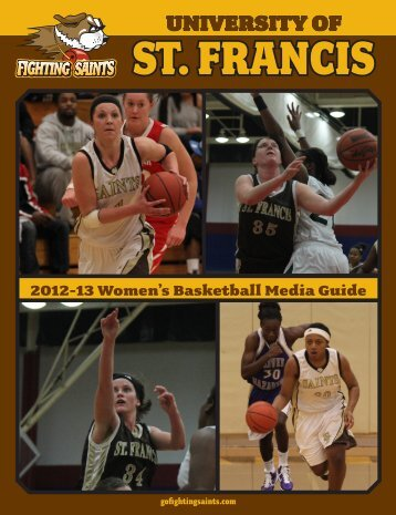 Media Guide - University of St. Francis Athletics
