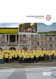 Jahresbericht 2012 - Landvolkkreisverband Hannover eV