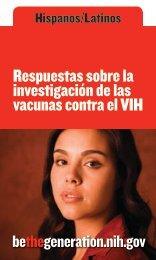 Respuestas sobre la investigación de las vacunas contra el VIH