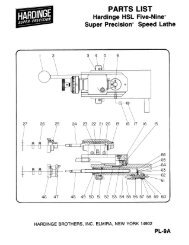 HSL Parts List