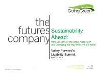 Sustainability Ahead
