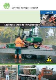 Ladungssicherung im Gartenbau - GBG 28 -