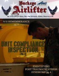 October - 179th Airlift Wing, Ohio Air National Guard