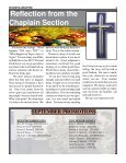 Reflection from the Chaplain Section - Page 2