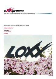 e presso - LOXX Holding GmbH