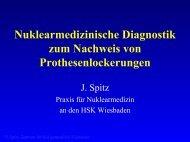 Nuklearmedizinische Diagnostik zum Nachweis von ...