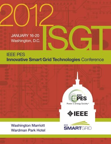 IEEE PES Innovative Smart Grid Technologies Conference