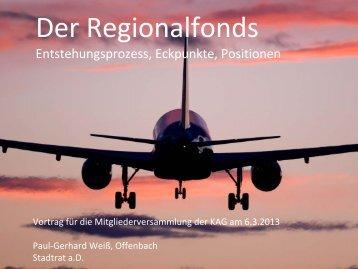 Der Regionalfonds