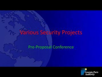Various Security Projects