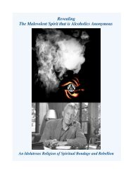 Revealing the Malevolent Spirit that is Alcoholics Anonymous.pdf