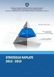 Strategija Naplate 2012-2015