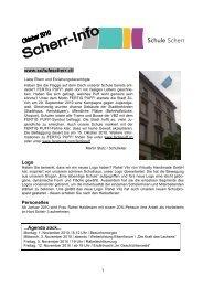 Zürich Jugendgewalt Jugendliche Informationen gebogene Schulprospekt