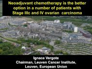Neoadjuvant chemotherapy - MD Anderson Cancer Center