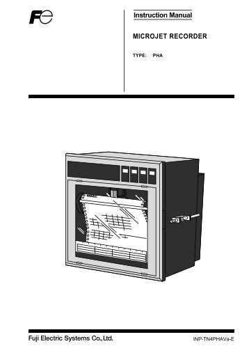 Microjet Recorder Series