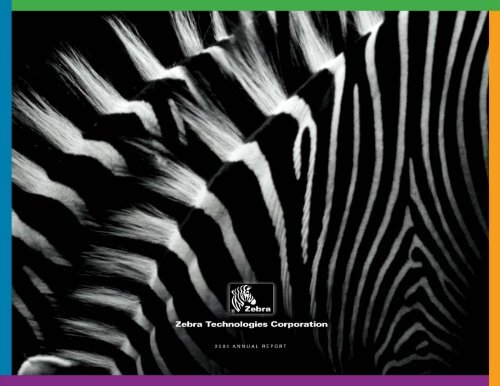 Full Report - Investor Relations - Zebra