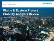 Stability Analysis Review