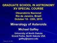 Mineralogy of Asteroids