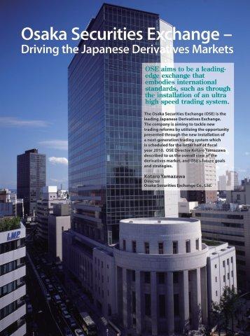 Osaka Securities Exchange –