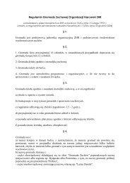 Regulamin Gromady Zuchowej Organizacji Harcerek ZHR