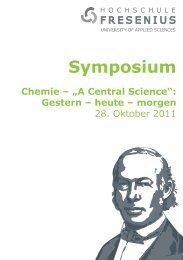 Symposium - Hochschule Fresenius