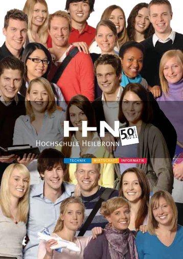 Festschrift 50 Jahre HHN - Hochschule Heilbronn