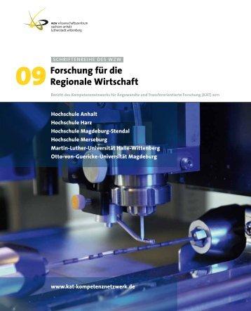 Forschung für die regionale Wirtschaft - WZW Wissenschaftszentrum ...