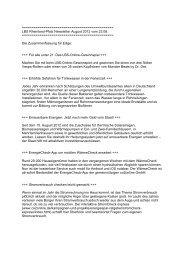 LBS Rheinland-Pfalz Newsletter August 2012 vom 23.08.