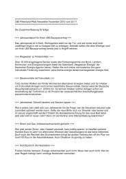 LBS Rheinland-Pfalz Newsletter November 2012 vom 20.11.