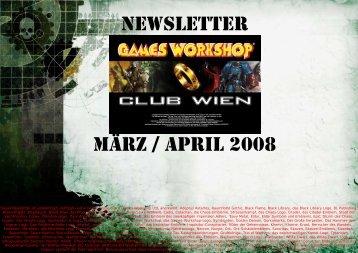 newsletter März / April 2008