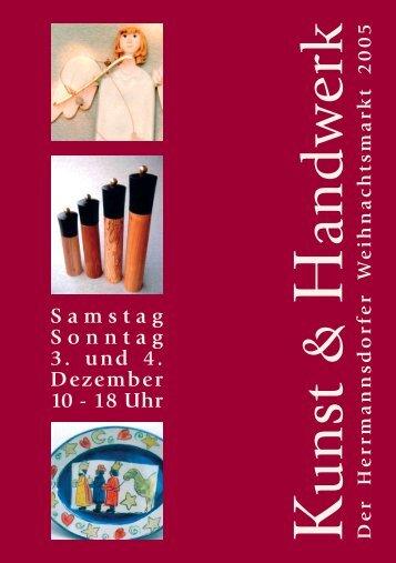 Die Künstler und ihr Handwerk - Herrmannsdorfer Landwerkstätten