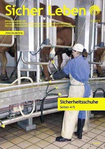 Sicherheitsschuhe - Die Landwirtschaftliche Sozialversicherung